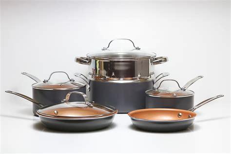 simply ming cookware reviews  red ceramic  stick set