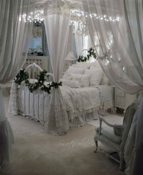 shabby chic curtains and bedding as many of you know our master is downstairs it s a space that my husband and i love so