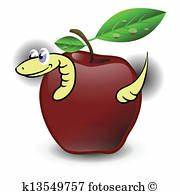 Apple snake Illustrations and Stock Art. 84 apple snake ...