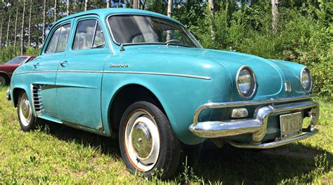 renault dauphine convertible cheap french commuter 1959 renault dauphine