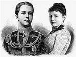 File:Heinrich XXVII RjL und Prinzessin Elise von Hohenlohe ...