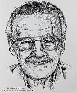 Stan Lee by LiubovKorotkova on DeviantArt