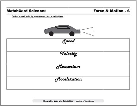 speed velocity and acceleration worksheet free worksheets