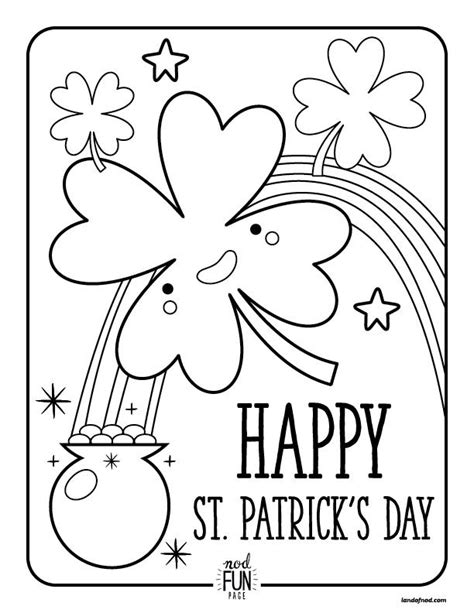 st patricks day activities  coloring pages