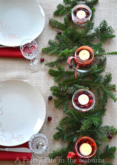 Simple & Pretty Christmas Centrepieces  A Pretty Life In