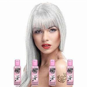 Crazy Color Semi-Permanent Neutral Hair Dye 4 Pack 100ml ...