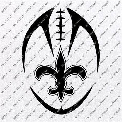 saints football svg  orleans saints svg football