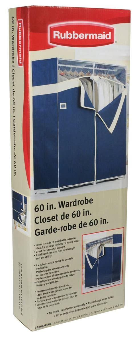 Rubbermaid Portable Closet by Rubbermaid 1807509 60 Inch Portable Closet Organizer Pppa