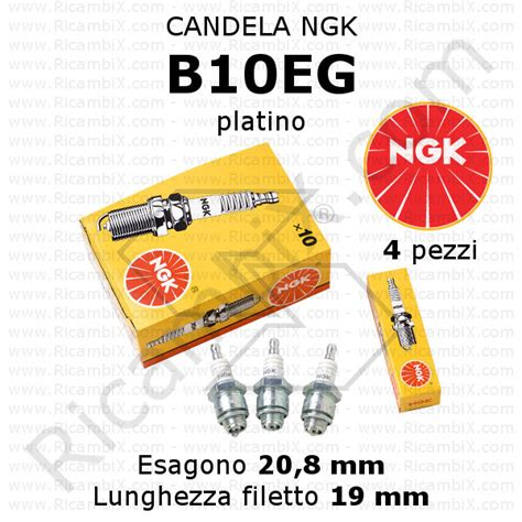 Candele Ngk Catalogo by Candele Di Accensione Ngk Ricambix
