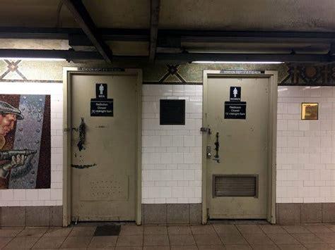 subway bathrooms    bad
