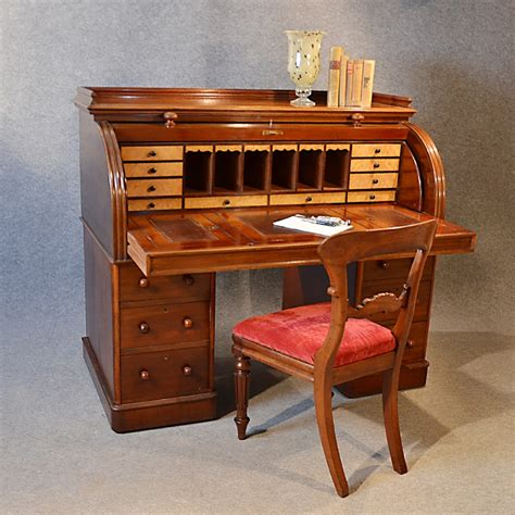 vintage bureau antique writing bureau large