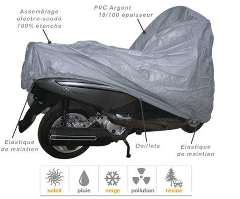 Housse De Protection Scooter 125 Housse Protection Scooter Impermeable En Pvc Bache