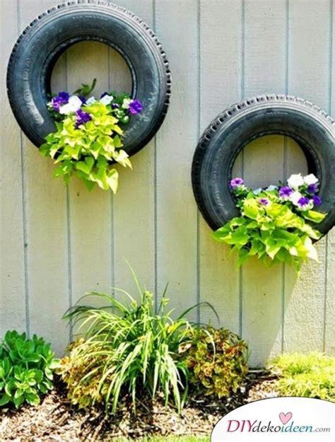 Garten Deko Autoreifen by 20 Diy Dekoideen F 252 R Den Garten So Einfach Ist