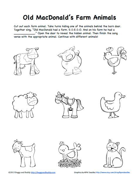 farm animals b w pdf science pinterest and pdf