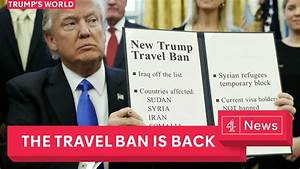 The new Trump travel ban explained and debated - YouTube