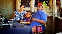 Jeff Koinange enjoying his holiday in Malindi with his ...