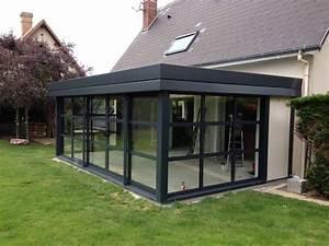 Mode de veranda recherche google architectuur for Maison bois toit plat 8 la veranda moderne 80 idees chic et tendance