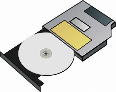 Cd Drive Clip Clipart Clker Slim