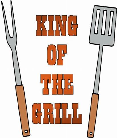 Bbq Clipart Grill Clip King Couple Invitations