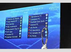 UEFA Youth League draw Chelsea paired with Zenit in last