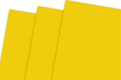 Buy unbranded yellow scrapbooking cardstock and get the best deals at the lowest prices on ebay! Bright Yellow Card Stock for menus, flyers, DIY Cards and posters - CutCardStock