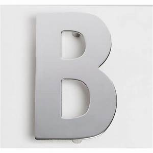 sandleford 130mm b chrome plated stainless steel letter With chrome wall letters