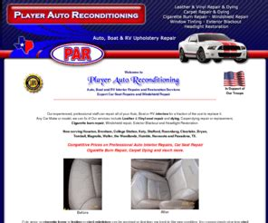 Boat Repair Brenham Tx by Playerautointerior Leather Car Seat Repair Auto
