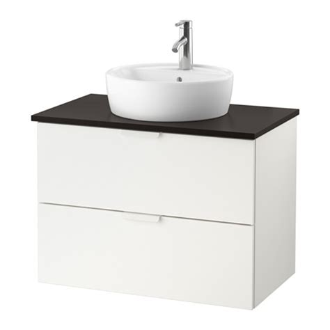 godmorgon tolken t 214 rnviken meuble lavabo av vasque 45 anthracite blanc ikea