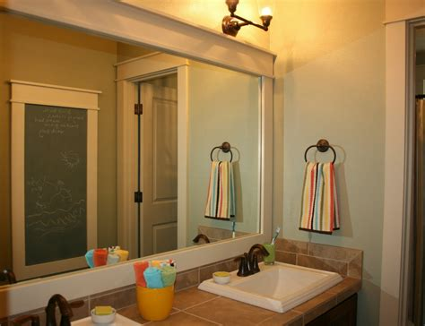 Framing Bathroom Mirror Ideas 8 Ways To Prettify Bathroom Without Repacking Wma Property