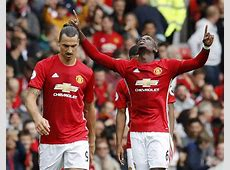 Pogba dabs for his first Man United goal Sport Galleries