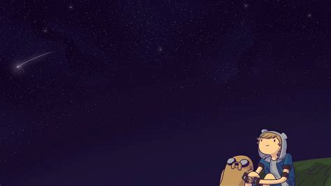 tablet android finn and jake stars night sky advent wallpaper 17149