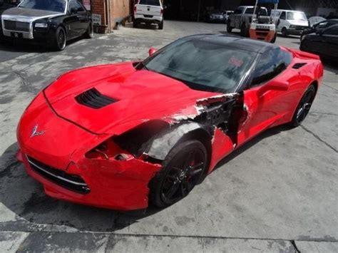 Sports For Sale by 2014 Chevrolet Corvette Stingray Z51 Damaged Salvage