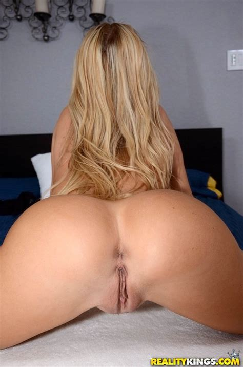 Blonde Milf With Big Fake Tits Getting Cum On Face After