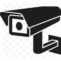 cctv icon of glyph style available in svg png eps ai icon fonts