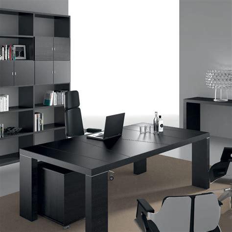 aux bureaux 5 bureaux modernes aux finitions noires amm mobilier