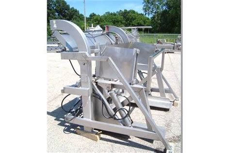Mtc Lift And Pivot Combo/tote Dumper Stainless Steel