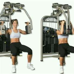 pec deck machine exercise how to workout trainer by