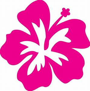 Hibiscus Outline - ClipArt Best