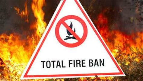 total fire ban declared hawkesbury gazette