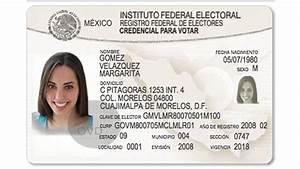 El IFE aprueba nueva credencial de elector con elementos biométricos Expansión