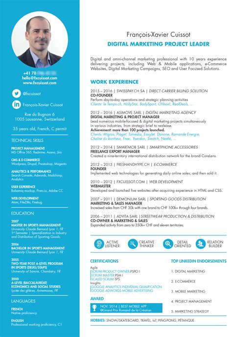 agile it project manager resume best font resume best