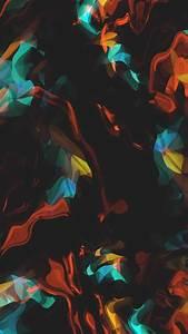 3 fonds d'écran couleurs en fusion pour iPhone et iPad