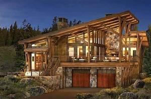 Contemporary Log Home Plans