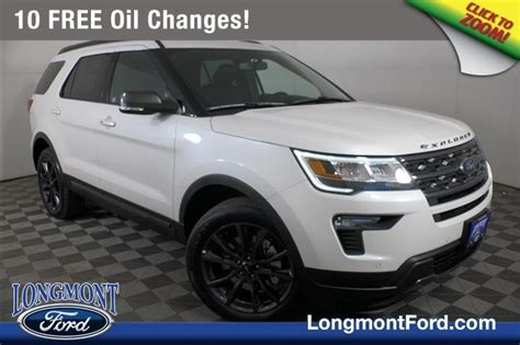 2020 ford explorer xlt sport appearance package new 2019 ford explorer xlt sport utility in longmont
