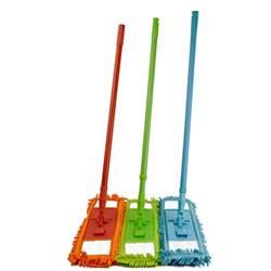 microfiber noodle mop dust mop w handle telescoping pole floor cleaner ebay
