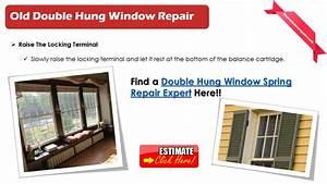 How To Repair A Double Hung Window Springs  Locks Repair