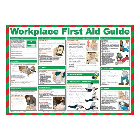 workplace  aid posters mm  mm  key signs uk