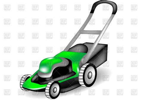 Lawn Mower Clip Lawn Mowing Equipment Clip Free Cliparts