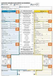 Imprimer Constat Amiable : remplir un constat amiable pour son auto gmf ~ Gottalentnigeria.com Avis de Voitures
