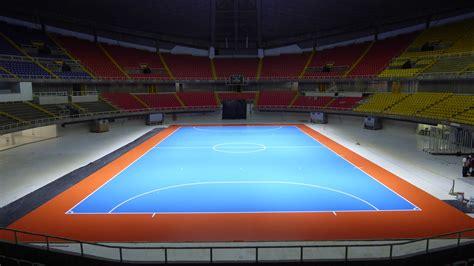 parquet flooring sports parquet dalla riva for the fifa futsal cup in